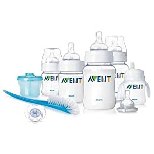 Philips AVENT BPA Free Classic Infant Starter Gift Set $28.22