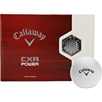 Callaway CXR Dozen Golf Balls