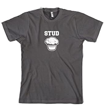 Stud Muffin Funny T-Shirt Funny Shirt For Hunks S