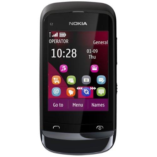 Nokia C2-02 Symbian SIM Free Smartphone Black Friday & Cyber Monday 2014