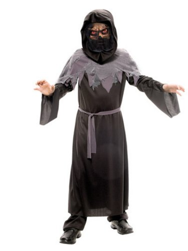 Walmart Boys Phantom Of The Night Costume with Robe & Mask