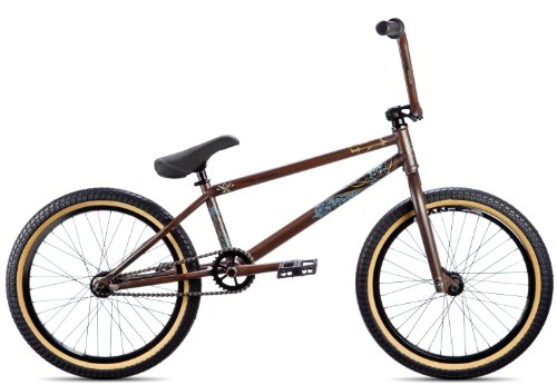 DK 2013 X Model BMX Bike, Woodgrain, 20.75-Inch