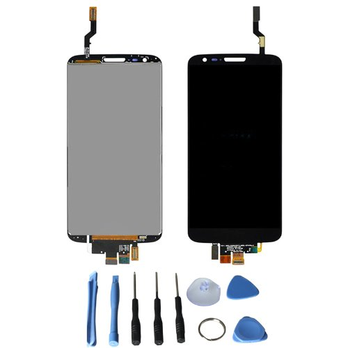 Lcd Display Touch Screen Digitizer For Lg Optimus G2 D800 D801 D803 With Free Tools (Black)