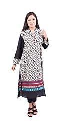 Krivi By Kk Women's Cotton Kurti (KRV-21-B_Multi-Coloured_M)