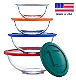 Pyrex Smart Essentials 6 Peice Mixing Bowl Set (8 Piece)