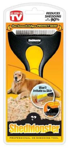 ShedMonster De-Shedding Tool for Medium to Long Coats