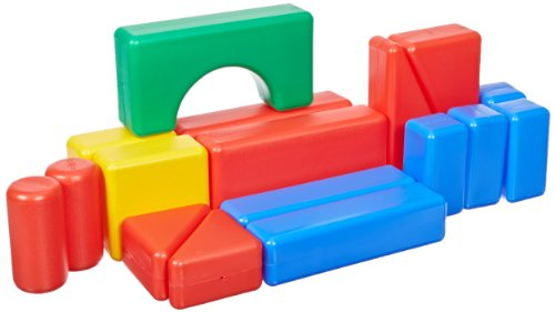 School Specialty Plastic Hollow Block, 17 Pieces - 1