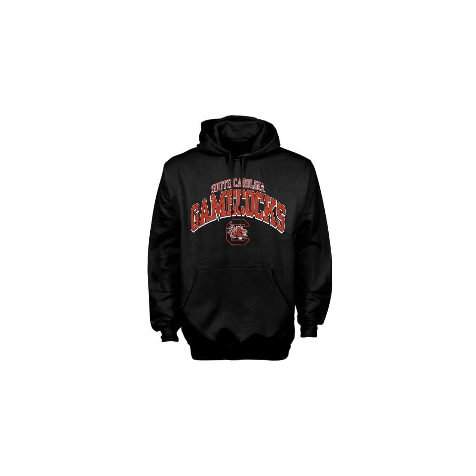 South Carolina Gamecocks Black Arched Hoody Sweatshirt