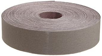 "3M Utility Cloth Roll 211K, Aluminum Oxide, 1-1/2"" Width x 50yd Length, 320 Grit (Pack of 1)"