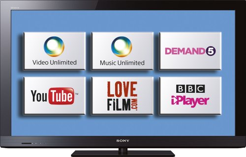 Sony KDL32CX520BU 32-inch Widescreen Full HD 1080p LCD Internet Ready TV with Freeview