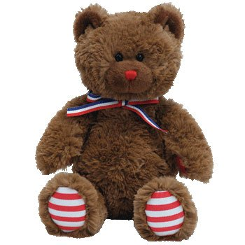 Ty Beanie Babies Uncle Sam - Bear Brown