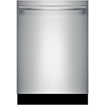 """Bosch 800 Series SHX68T55UC Fully Integrated Built-in Dishwasher 24"""" in Stainless Steel"""