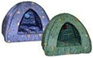 Lazy Pet CLPPYR100 Kitty Assorted Print Pyramid Bed