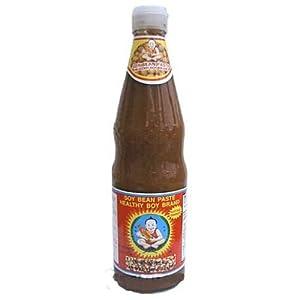 Amazon.com : Thai Yellow bean paste - 12.5 oz bottle x 2 : Bean Sauces
