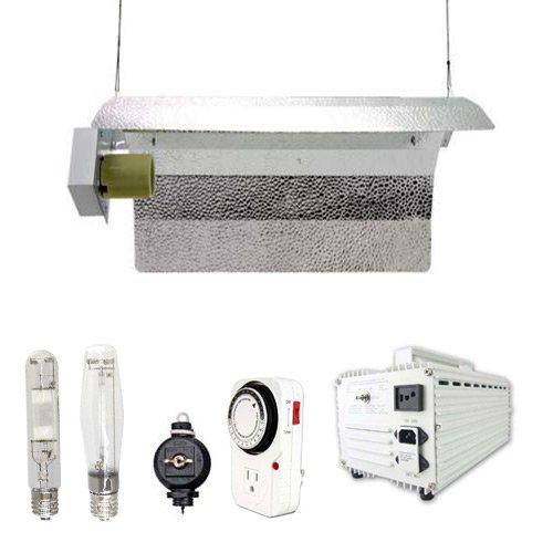 Virtual Sun 600W Hps Mh Grow Light Winged Reflector Magnetic Kit 600 Watt