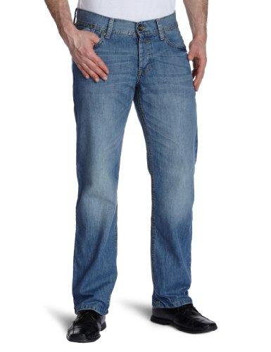 edc by Esprit Men's Loose-Fit Jeans Blue W28 x L32