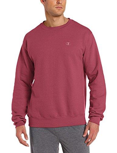 Champion Men's XXL Pullover Eco Fleece Sweatshirt Bordeaux Red (no contrast)