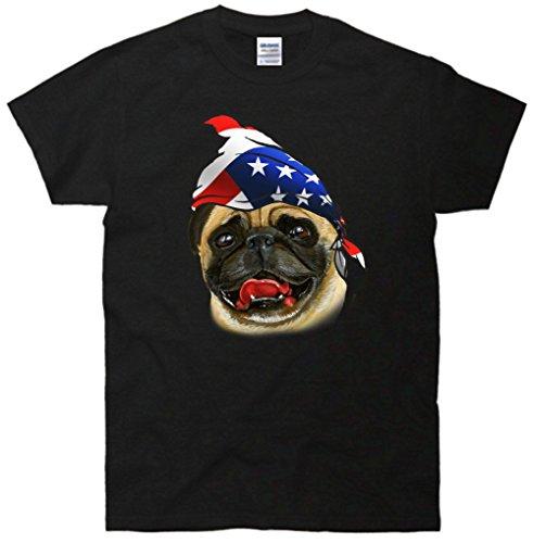 American Pug Bandanna T-Shirt