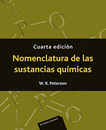 Nomenclatura de las sustancias químicas (4 Ed.)