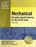 img - for Michel A. Saad: Mechanical Discipline-Specific Review for the FE/EIT Exam (Paperback); 2006 Edition book / textbook / text book