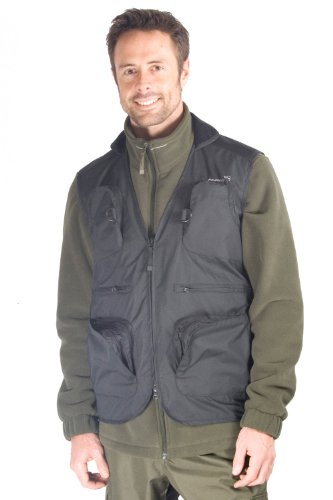 Corrib Men's Fishing Gilet - Colour Black Size Large