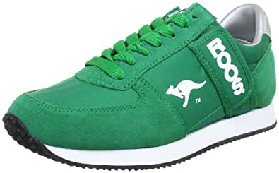 Kangaroos 71490, Baskets mode homme - Vert (Green), 37 EU