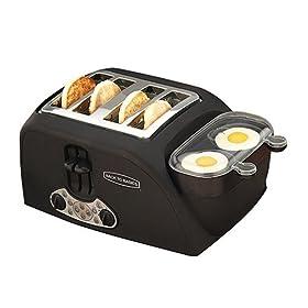 Back to Basic Egg 'N Muffin 4-Slice Toaster/2 Egg Cooker eglu mypetchicken.com