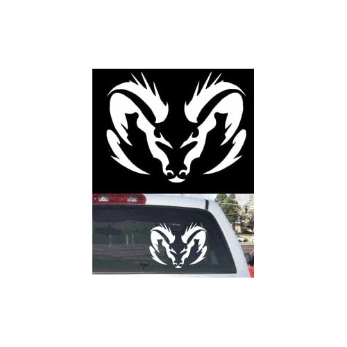"Amazon.com: Tribal Dodge Ram Rear Window Decal Large 12""x10"""