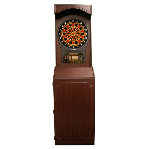 Arcade Style Cabinet With Cricket Pro 800 Electronic Game
