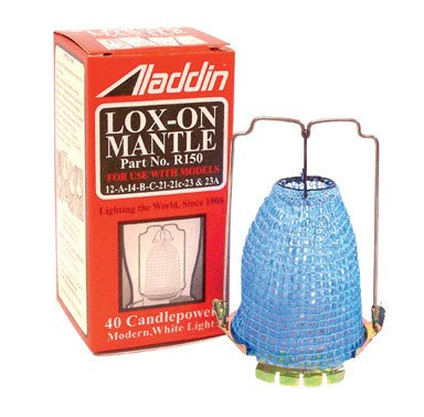 Aladdin Mantle Lamp R150 Lox-On Mantle