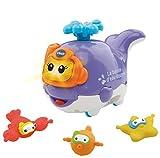 VTech 80-186805 juguete para baño y pegatina - juguetes para baño y pegatinas (Juguete de baño, Niño/niña, AAA, Azul, Lavanda, Color blanco)