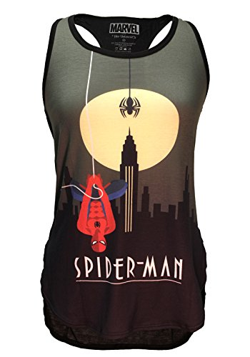 Her Universe Womens Marvel Spider-Man Flora Tank (Large)