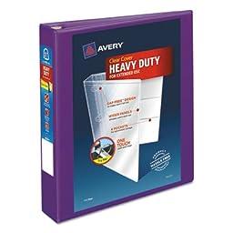Heavy-Duty View Binder w/Locking EZD Rings, 1 1/2\