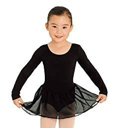 Child Long Sleeve Dress,CL5309BLKS,Black,Small