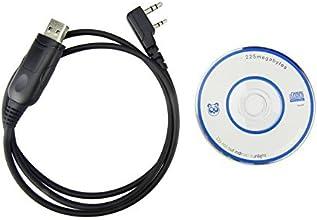 Baofeng Programming Cable XFoxreg USB Cable amp Programming Disk Kit for BAOFENG UV-5R5RA5 RPlus5RA5