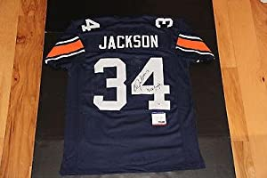 Bo Jackson Signed Jersey - Inscribed War Eagle Coa Auburn Home - PSA DNA Certified -... by Sports+Memorabilia