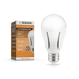 Led Lampen Test Sebson Sebson E27 Led 10w Lampe Dimmbar Test