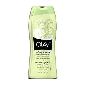 Olay Soothing Cucumber Cleansing Body Wash, 12 Fluid Ounce (Pack of 2) $3.82