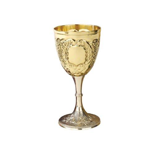 Goblets The King 39 S Royal Chalice Embossed Brass Goblet