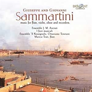 Sammartini, G & G - Chamber Works from Brilliant Classics