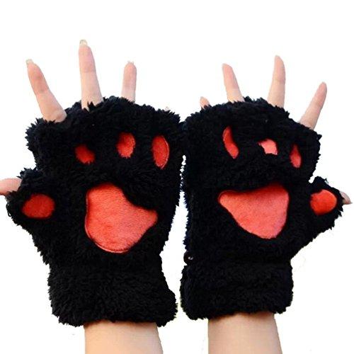 san-bodhir-women-bear-plush-cat-paw-claw-glove-soft-winter-gloves