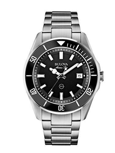 bulova-marine-star-mens-quartz-watch-with-black-dial-analogue-display-and-silver-stainless-steel-bra