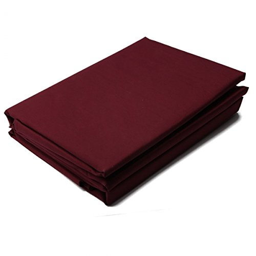 "Burgundy Ca King Microfiber Bedding Sheet Set 4Pc (108"" X 102"")13005918 front-692962"