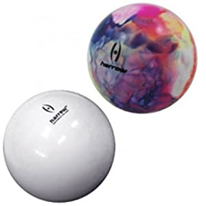 Buy Harrow Blister Pack Smooth Field Hockey Ball (2-Piece), White Multi-Color by Harrow