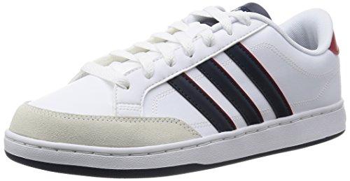 Adidas Courtset Scarpe Low-Top, Uomo, Multicolore (Ftwwht/Conavy/Powred), 44