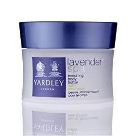Yardley London Lavender Spa Enriching Body Butter with Aloe Vera