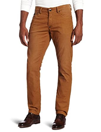 J.C. Rags Men's Treated Corduroy Pant, Faded Dust, 28