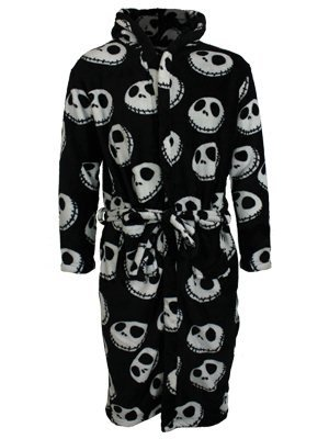The Nightmare Before Christmas -  Accappatoio  - Donna Multicolore Mehrfarbig - Schwarz taglia unica
