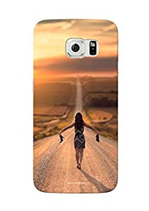Sowing Happiness Printed Back Cover for Samsung Galaxy S6