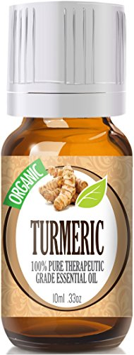 Turmeric (Organic) 100% Pure, Best Therapeutic Grade Essential Oil - 10Ml